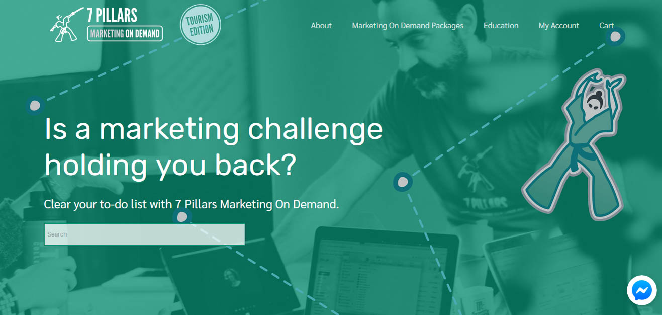 Marketing on Demand Digital Marketplace by 7 Pillars Digital
